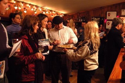 Wintergreen Winery Pouring
