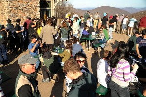 The event is one of several held each year as the resort prepares to shift from winter into spring and summer operations in the coming weeks,