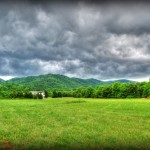 Photo By NCL Mountain Photographer Paul Purpura : Mean looking storm clouds hang over the mountains near Route 664 & 151 late in the day Tuesday as strong thunderstorm moved across the area.