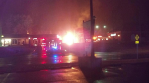 Amherst: Breaking: Explosion At Ambriar Shopping Center Has Firemen Battling Blaze : Video
