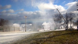 Nelson: Temps Cooperating – Wintergreen Resort Making Snow!