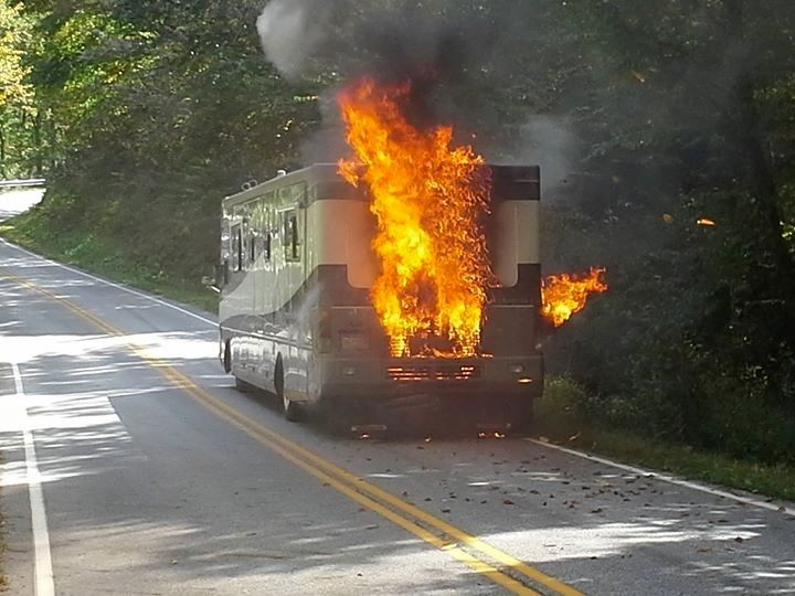 Brilliant One Homeless After Travel Trailer Fire  NorthEscambiacom