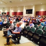 Nelson Auditorium Packed Tuesday Night As Dominion Speaks At BOS Meeting About Pipeline