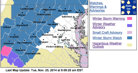 WINTER STORM WATCH (expired)