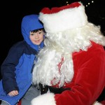 Santa Makes Annual Tree Lighting & Caroling At Stoney Creek In Nellysford