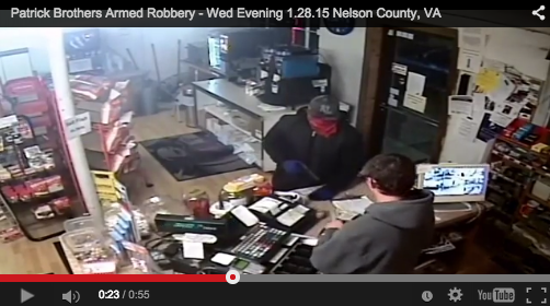 Nelson: Lawmen Looking For Suspect In Overnight Holdup : Updated W/ Surveillance Video 5:30PM 1.29.15