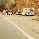 Nelson: Emergency Crews Work School Bus Accident On Route 29 In Woods Mill (No Children On Board)