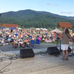 Large Crowd Turns Out : Music for the Mountains Festival To Oppose Pipeline