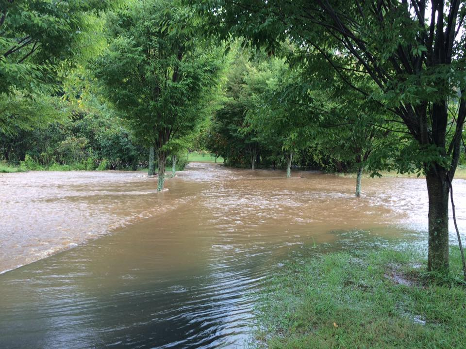 Major Flooding Hits Central Virginia Blue Ridge Area