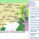Flash Flood Watches For All Of Central VA Expired Or Canceled