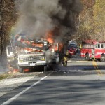 Tuesday Afternoon Fire Near Wintergreen Entrance Slowed Traffic