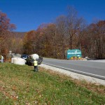 Crews Seen Taking Core Samples Near Wintergreen Entrance Where ACP Is Proposed