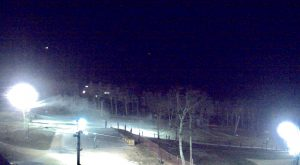 Photo courtesy of Wintergreen Resort : With temps dropping well into the 20s at Wintergreen, that has allowed crews there to start making snow.