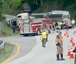 Nelson : VSP Updates On Serious Crash At Rockfish River Road & US 29 Northbound