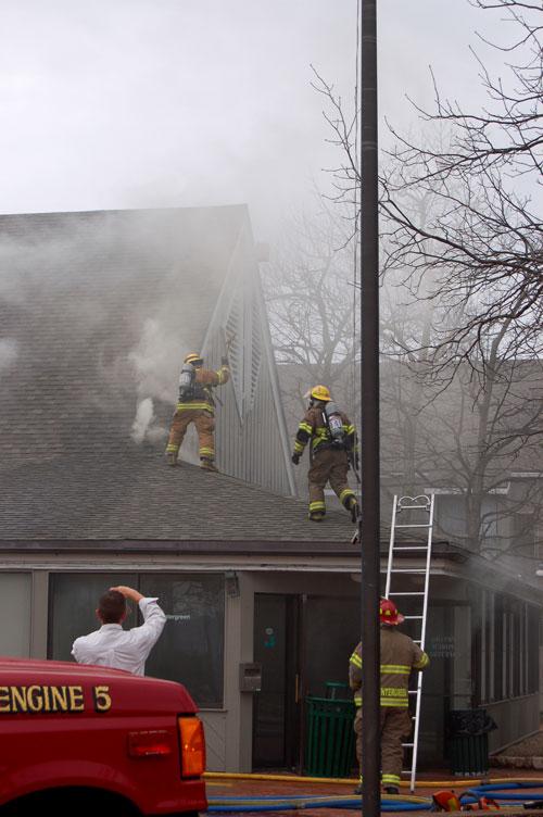 Wintergreen Fire Dept. responding