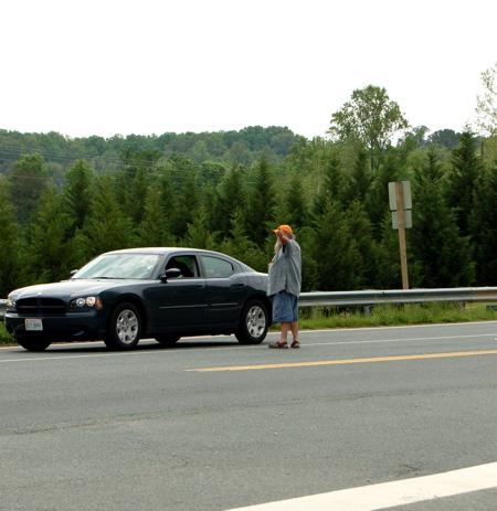 Bad bb directs traffic