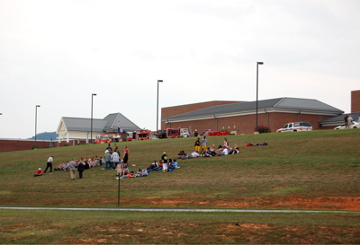 Breaking : Lovingston : Bomb Threat @ Middle School - scene cleared @ 5:45 PM EDT