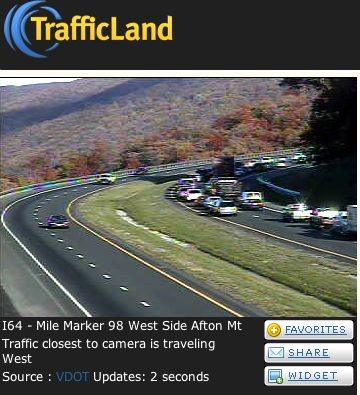 BREAKING : Several vehicle accidents on I-64 West between Exit 99 & 102 : Updated 4:53 PM EST - Traffic flowing n
