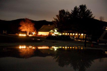 Night shot Wintergreen