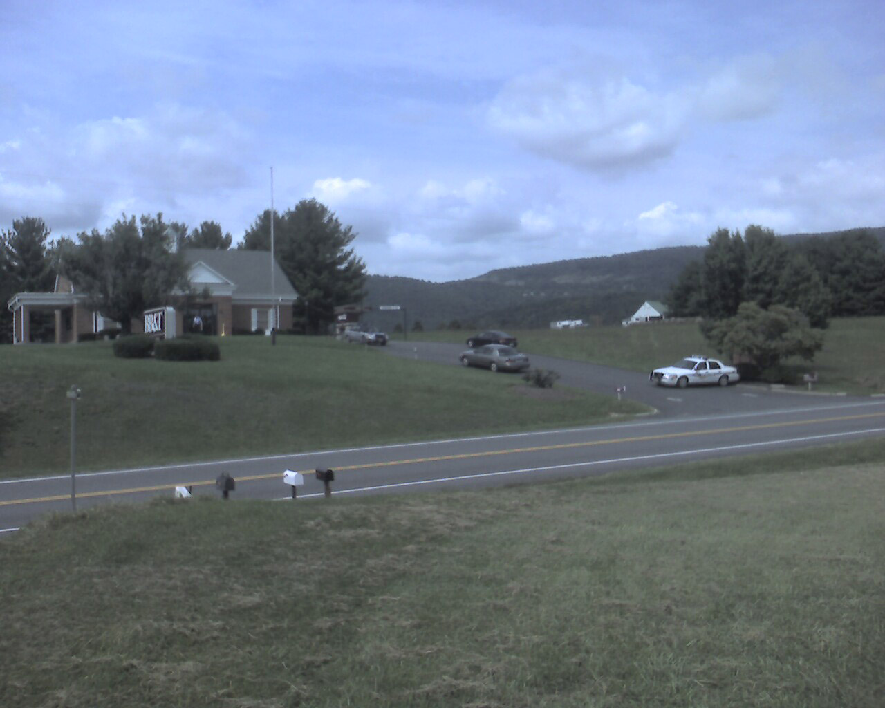 Man Hunt Underway for Afton Bank Robbery Suspect