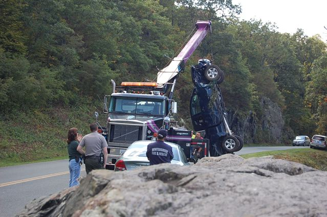 Ravens Roost Proves To Be Steep Recovery For Stolen Truck