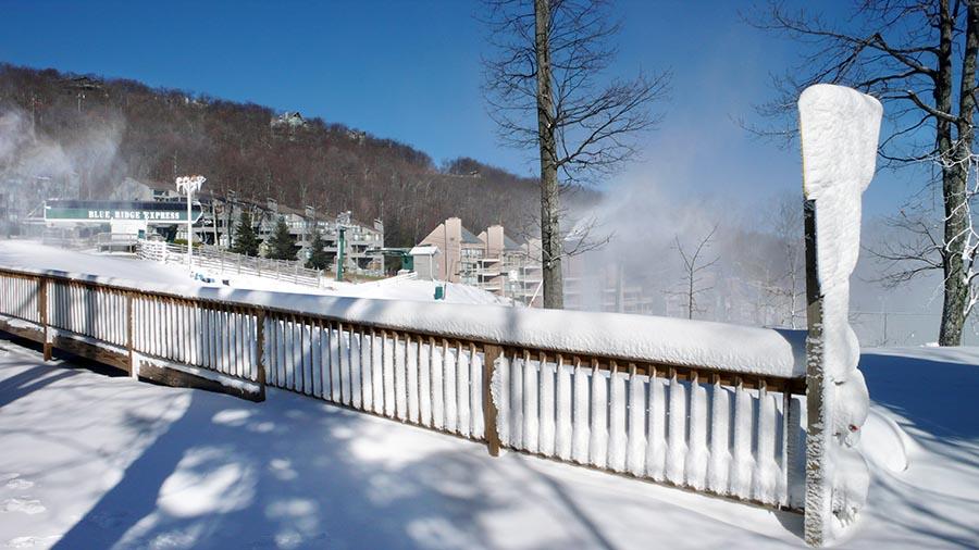 Wintergreen : Winter Gearing Up On Mountain