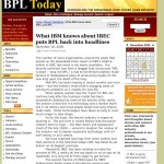 IBEC Updates NCL & Discusses IBM Relationship