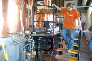 Brewmaster, Jason Oliver, is currently brewing five different beers that will soon be released.