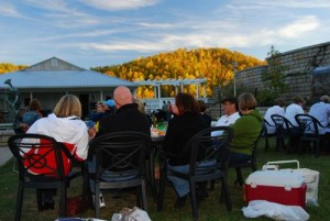 Photos By Diana Garland : Fall Foliage Concert at Delfosse Winery this past Saturday.