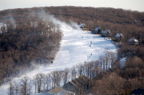 Ski Season Officially Opens At Wintergreen To Perfect Weather!