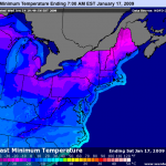 Extremely Cold Weather Arrives In Central Virginia