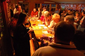 Wintergreen Winery will hold another popuar wine & cheese pairing on March 7, 2009
