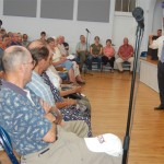 Packed Crowd At Perriello Town Hall Meeting In Lovingston :  8.20.09