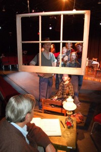 ©2005-2009 www.nelsoncountylife.com : A photo from the very first production of The Homecoming @ The Hamner Theater in late 2005.