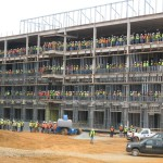 Final Steel Beam Secured In Topping Off Ceremony @ New Martha Jefferson Hospital Location