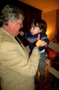 Yep. Junior Publisher, Adam Stafford, got the chance to meet Earl!