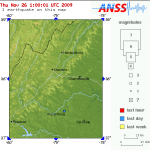 Minor 2.7 Earthquake Rattles Nelson & Parts Of Central Virginia : 11.26.09