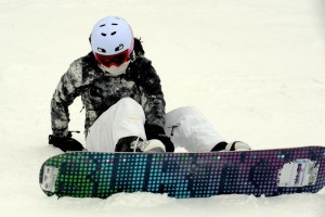 Photo By Paul Purpura : Up at Wintergreen 16 slopes were already opened on Tuesday with 100% of the slopes anticipated to be open by the coming Christmas weekend.