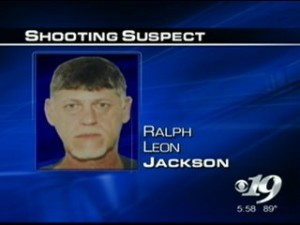 Image courtesy of CBS-19 Charlottesville : Ralph Leon Jackson, 56, remains in custody charged with two shootings on the Blue Ridge Parkway this past Monday evening.