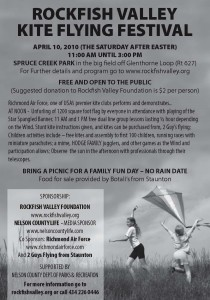 Click on flier above for more details on this Saturday's festival.