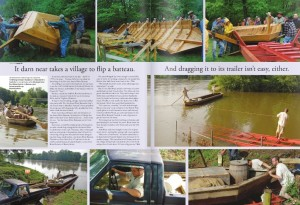 You might remember our July 2009 story where we followed Nelson native, Brian Roberts down the James in the maiden voyage of his Rockfish Runner. Click on this pic to go to that story.