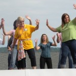 Dancing On The Roof At Rockfish River Elementary : 6.4.10