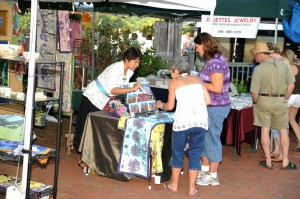 The annual arts & crafts fair was also in full swing over the weekend at Wintergreen Resort.