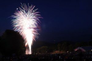 Photos By Paul Purpura : ©2010 www.nelsoncountylife.com : Wintergreen Resort held its annual 4th of July fireworks display on the mountain. Thousands made their way to the top to watch!