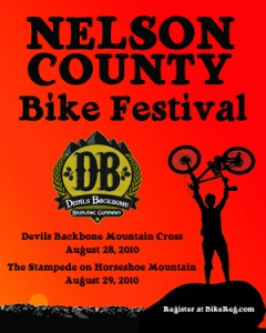 The two day Nelson County Bike Festival takes place this weekend on Saturday & Sunday.