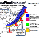 Significant Winter Weather Possible By Mid Week : Updated : 1.24.11 @ 1:40PM