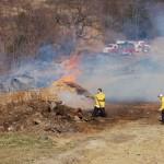 High Winds Keep Fire Crews Busy