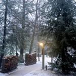 Rain Turns To Snow At Wintergreen Resort Sunday Evening