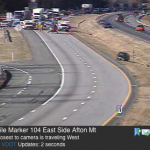 Afton Mountain : Fatal Accident On I-64 EB Shuts Down Traffic (MM 104)
