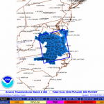 Weather Bulletin : Wintergreen & Nelson : Severe Thunderstorm Watch -  ! CANCELED !
